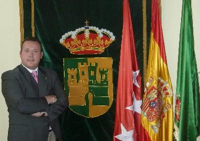 Antonio Sánchez Fernández, Alcalde de Serranillos del Valle (del partido creado en esta localidad en 2010 Unión Democrática Madrileña -UDMA-)