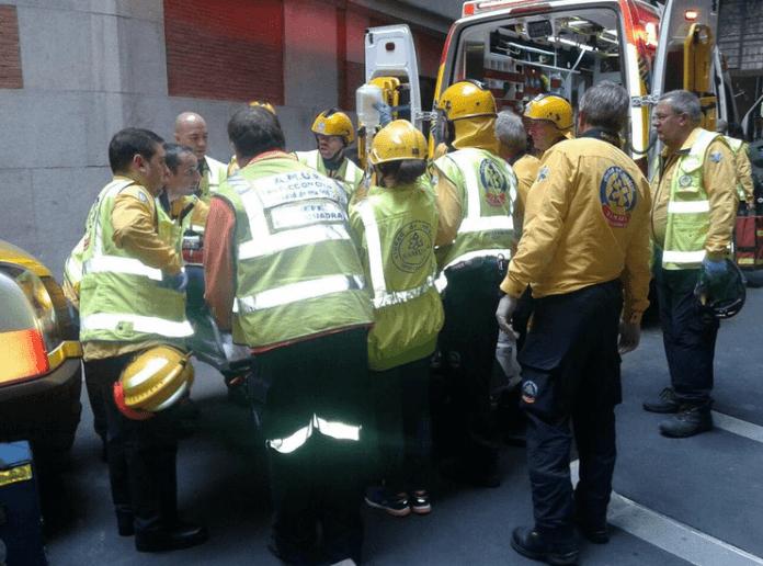 incendio-banco-espana-heridos