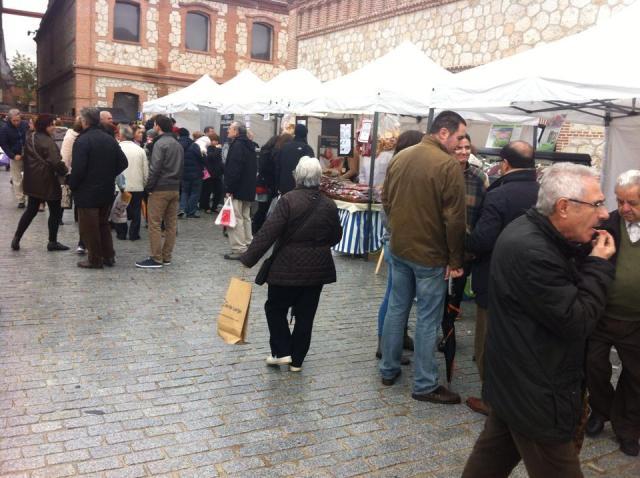 Imagen del mercado, este sábado día 29 - M.P.