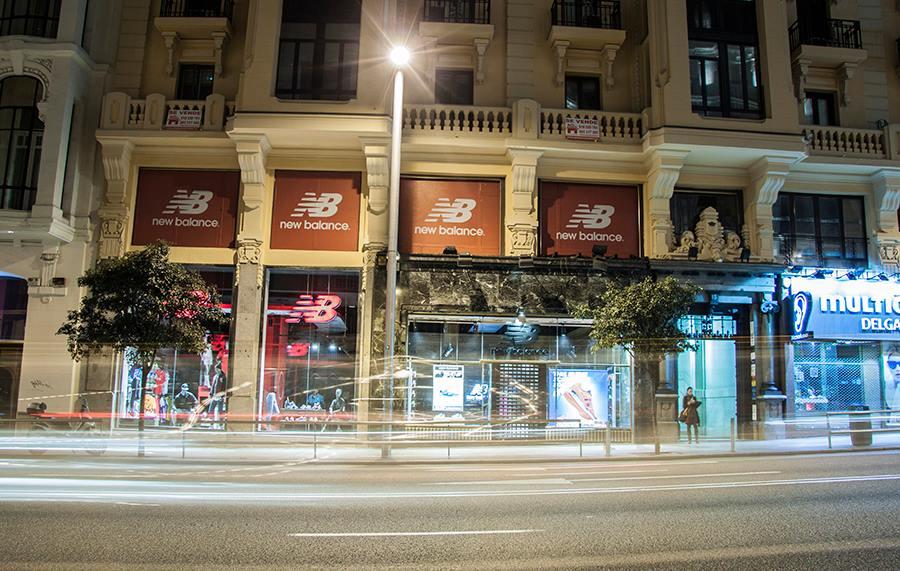 tienda new balance calle fuencarral