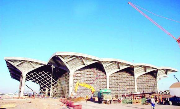 Una de las cinco estaciones del proyecto Al-Haramain (Arab News)