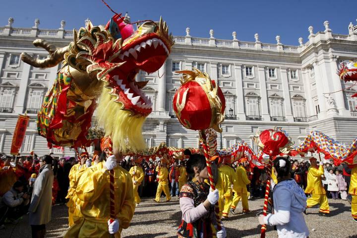 zona retiro madrid celebra el a o nuevo chino este s bado