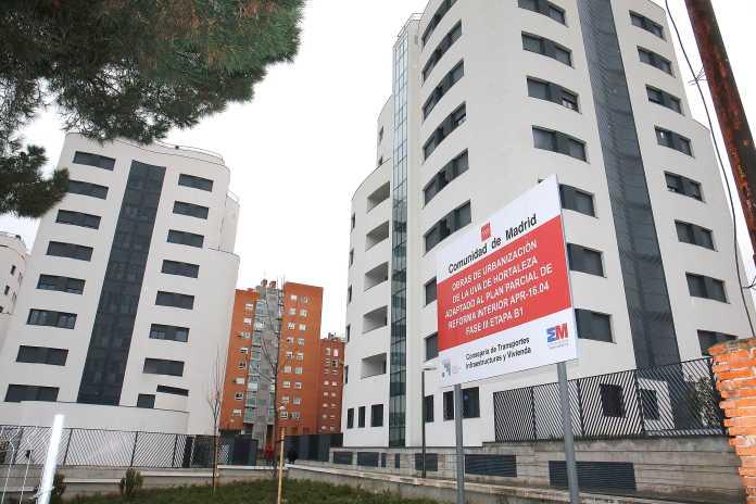 Nuevos pisos para los inquilinos de la Unidad Vecinal de Absorción de Hortaleza