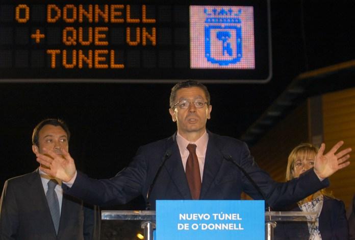 Inauguración del túnel en 2006