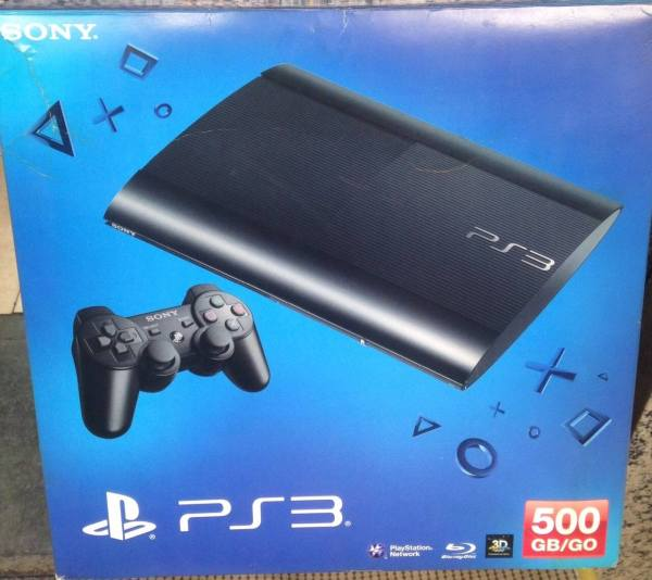 Sony Ps3 Super Slim 500gb Zonasegundamano