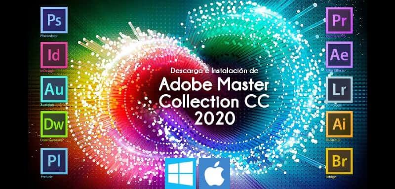Adobe Master Collection CC 2020 – Todas las App [WIN-MAC]