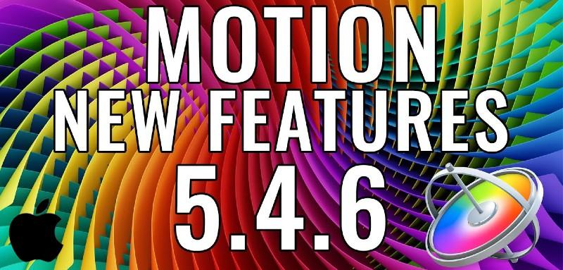 Apple Motion 5.4.6 para MacOS Full
