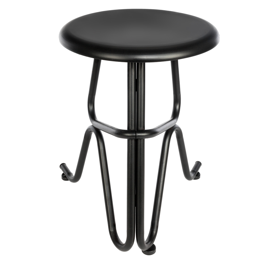 chair stool retro chairs that swivel 45cm high bar vintage steel industrial dining kitchen