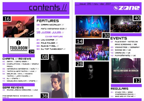 zone-magazine-issue-019-contents