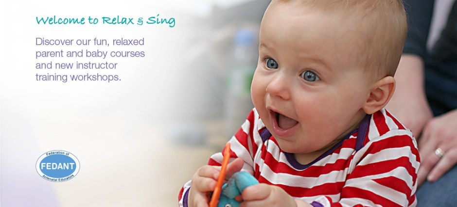 Relax and Sing | Baby Signing | Baby Massage and Yoga