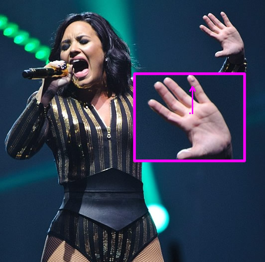 20 Demi Lovato Finger Tattoos Say Ideas And Designs