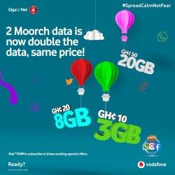 Vodafone 2Moorch Data Bundle Offer