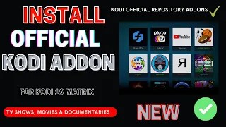 How to Install Add-ons From Kodi's Official Repository