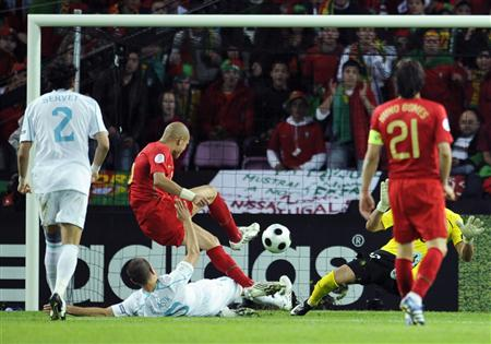 Golo do Pepe no EURO2008