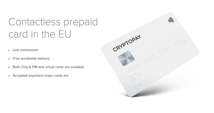 carte bancaire crypto pay