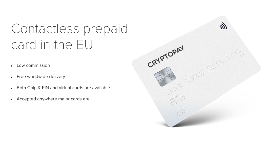carte bancaire crypto pay