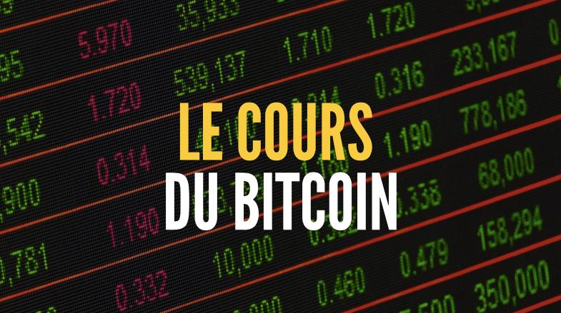 cours bitcoin prix bitcoin