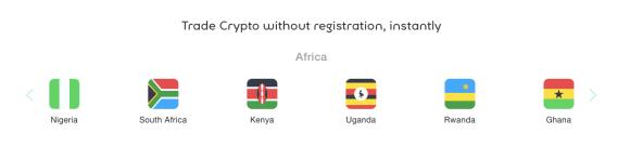 transfert d'argent crypto-monnaie afrique