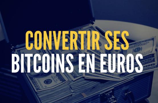 convertir bitcoin en euros