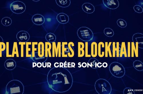 plateforme blokchain pour créer ico