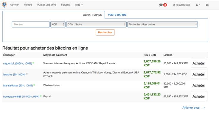 acheter du bitcoin avec du franc cfa local bitcoin
