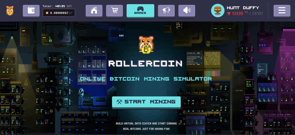 gagner des bitcoins n jouant avec rollercoin