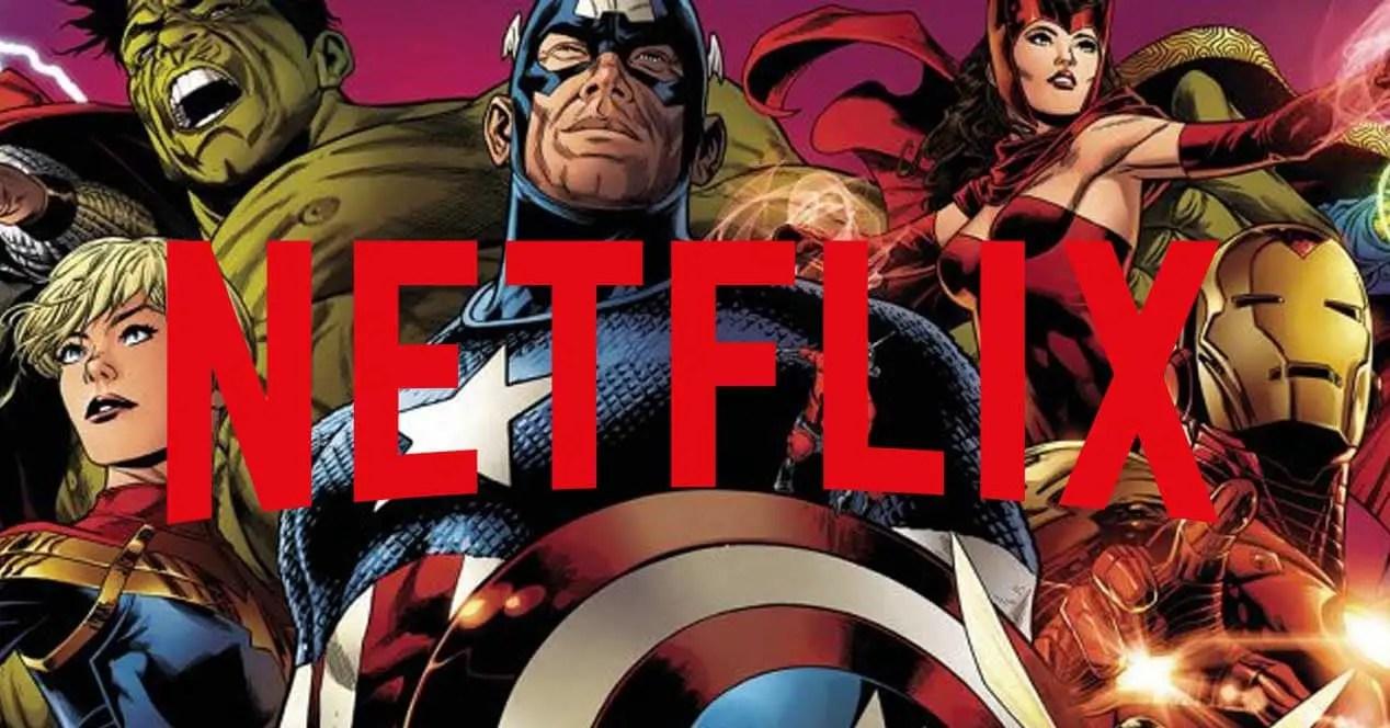 Películas de Marvel en Netflix- Abril de 2019