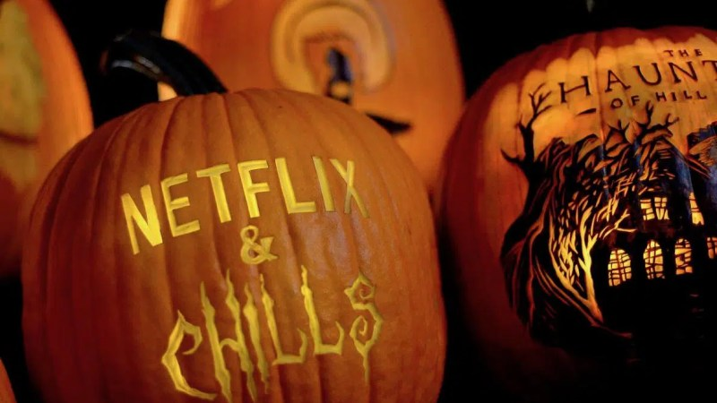 netflix and chills halloween