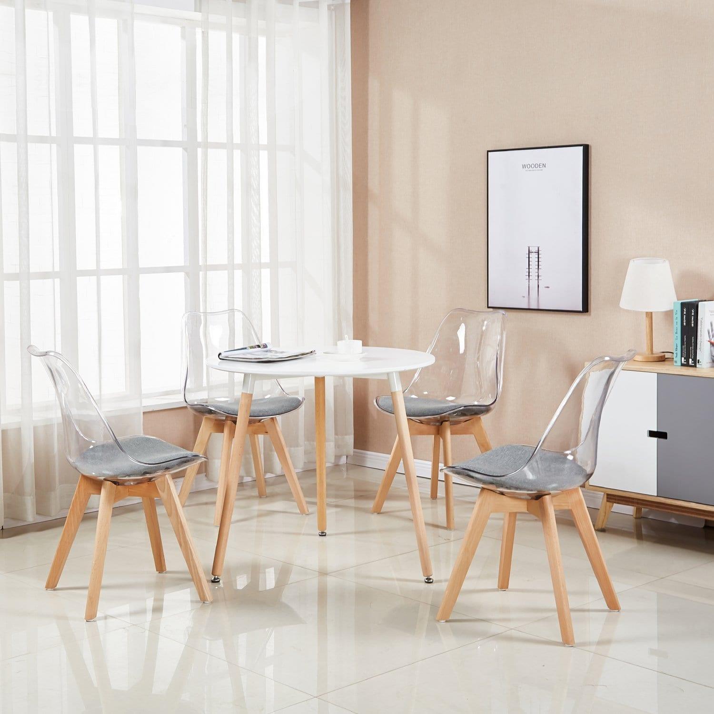 la meilleure chaise transparente