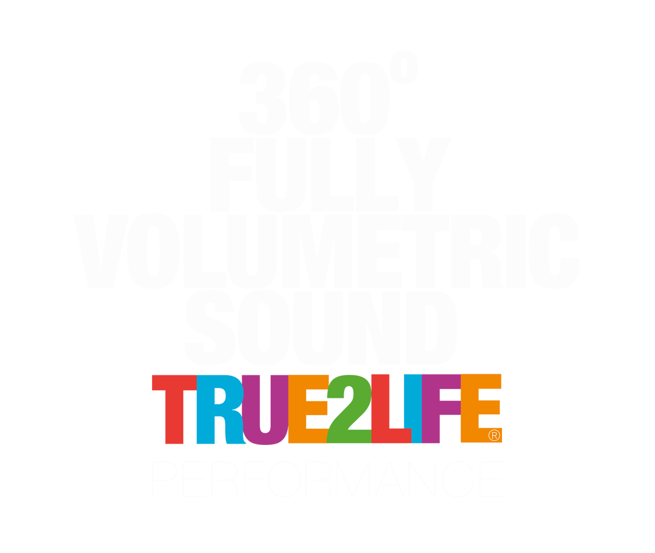 360 FULLY VOLUMETRIC SOUND - TRUE2LIFE PERFORMANCE