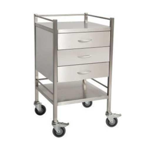 Triple-Stainless-Steel-Dressing-Trolley