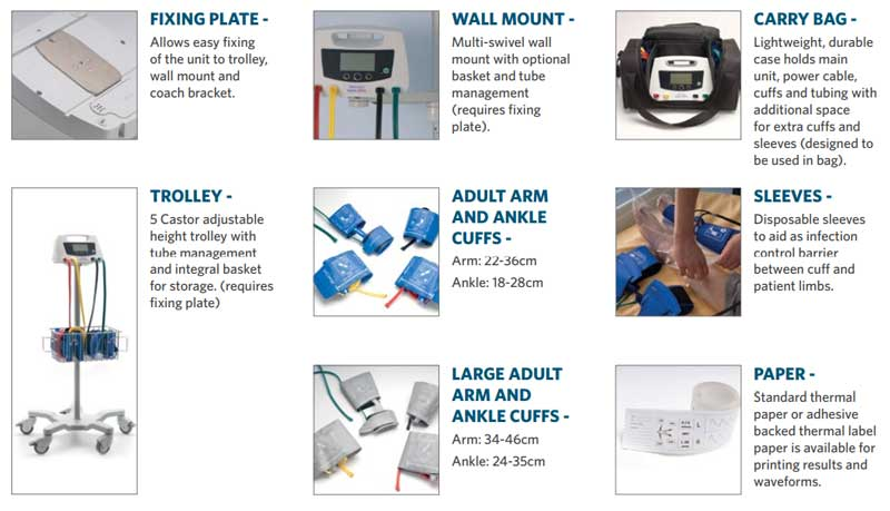 Huntleigh ABI Accessories & Consumables