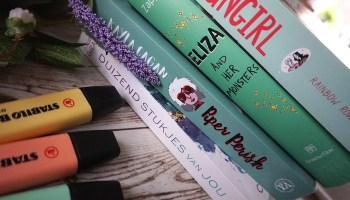 Vijf young adults voor creatieve lezers