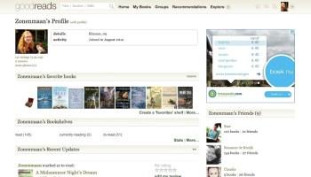 Website en app voor lezers: Goodreads