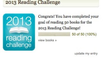 Reading challenge update!
