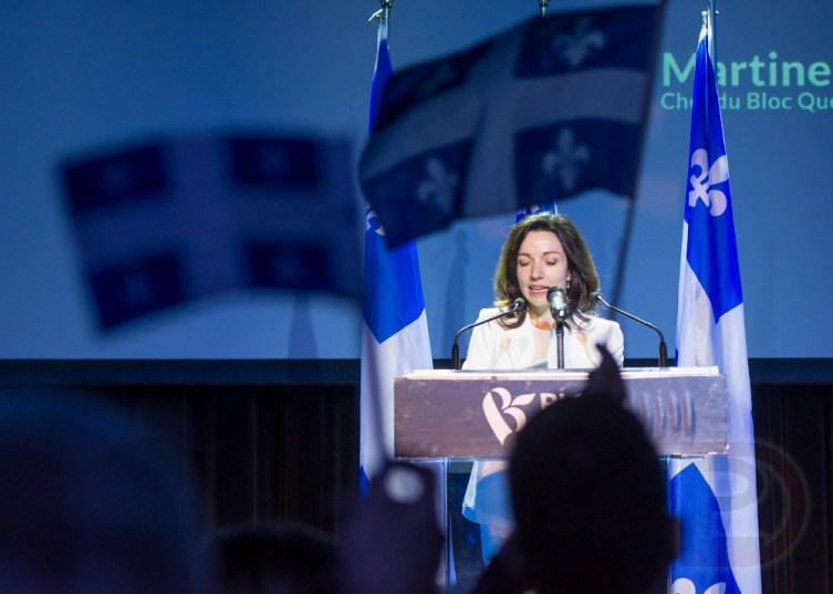 Martine Ouellet, nouvellement chef du Bloc Québécois