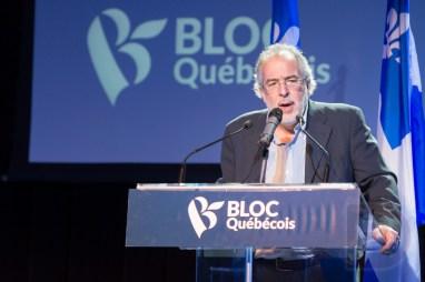 Rhéal Fortin, député du Bloc Québécois dans Rivière-du-Nord