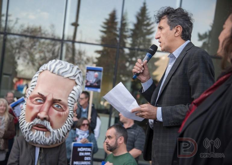Amir Khadir, député de Québec solidaire (QS) dans Mercier