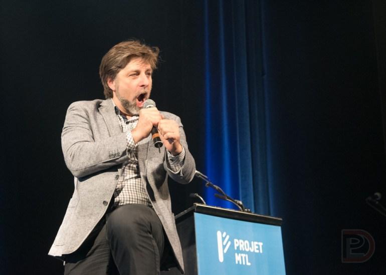 Luc Ferrandez, réélu maire de l'arrondissement Plateau-Mont-Royal