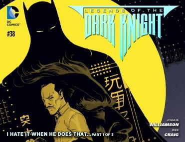 Legends of the Dark Knight #38