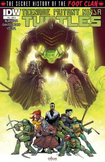 Teenage Mutant Ninja Turtles: Secret History of the Foot Clan #4