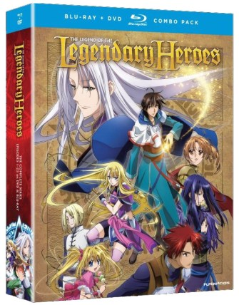 Legend of the Legendary Heroes-Complete Series