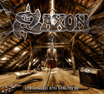 Saxon - Unplugged and strung up