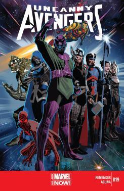 Uncanny Avengers #19