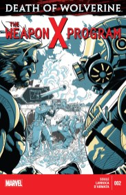 Death of Wolverine: The Weapon X Program #2