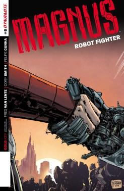 Magnus: Robot Fighter #8