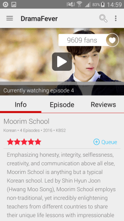 DramaFever - Android