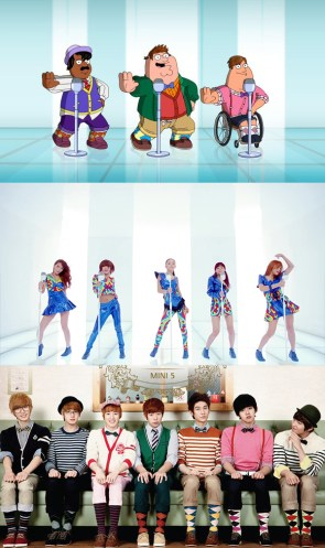 Family Guy - K-Pop