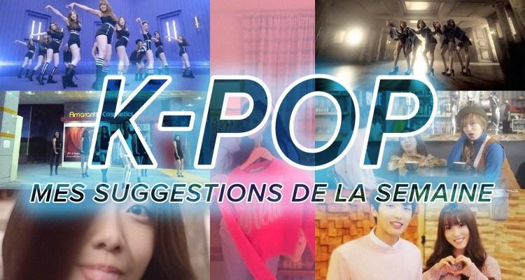 K-Pop du 6 au 12 mars 2016