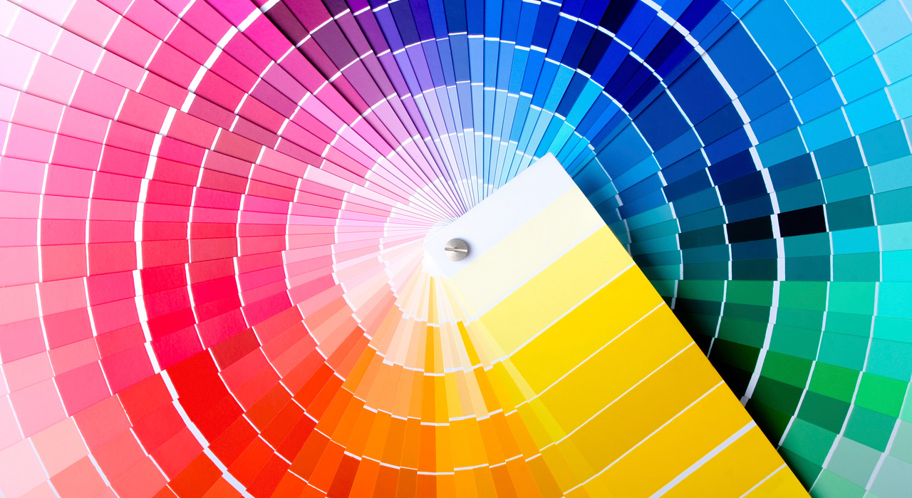hight resolution of the impact of colours on your brand image